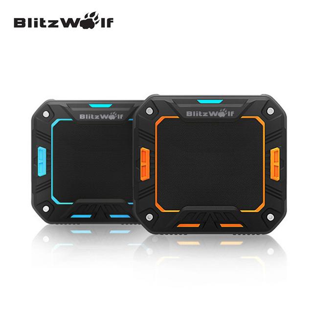 BlitzWolf Bluetooth Speaker Mini Wireless Speaker Bluetooth Stereo Speaker Portable Universal For iPhone 7 6s 6 For Samsung PC