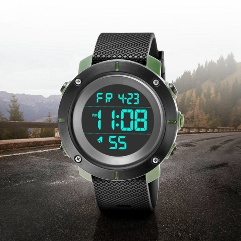 Kak Smart Watches Hot Men High-End Sports Watch Digital Led Electronic Sport Watches For Men Smartwatch Multan