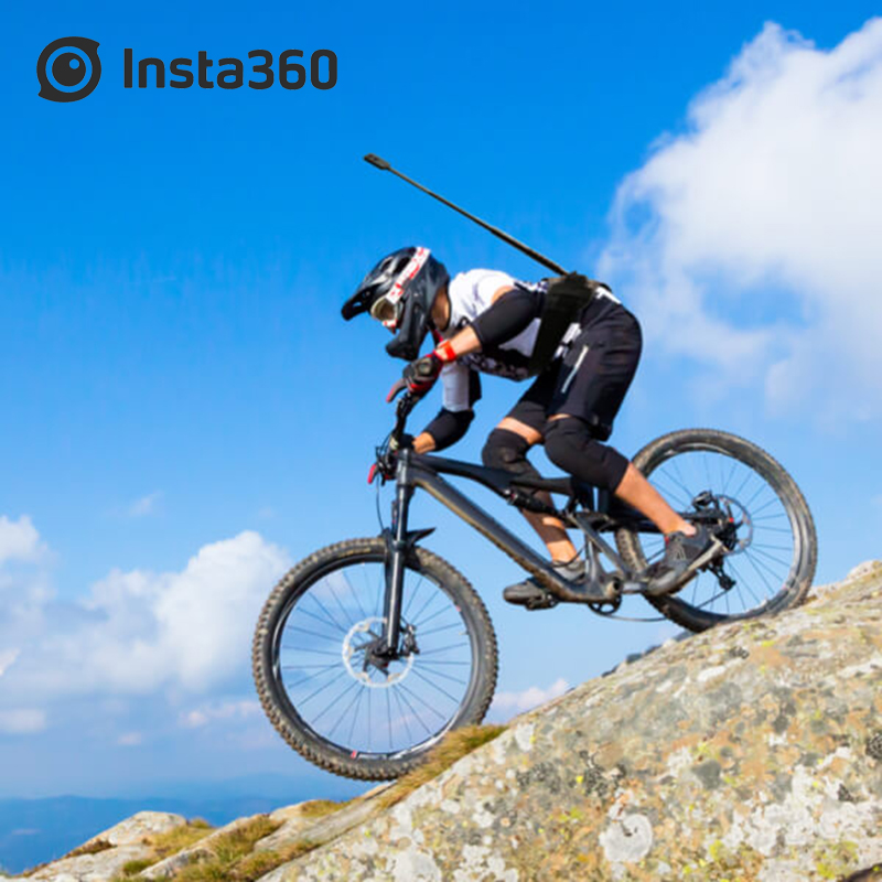 Insta360 Back Bar Bundle ONE And ONE X Sport Action Camera Accessories For Jogging Cycling Mountain Biking BMX and Motorcycling