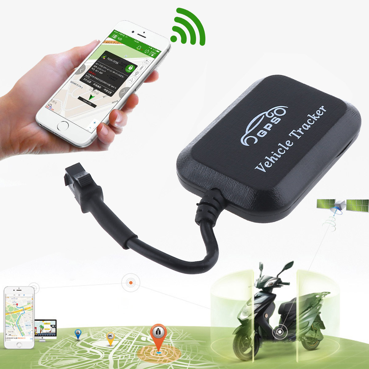 GT008 Mini GPS Tracker Locator Real Time Tracking System Device GPS Locator for Car Vehicle Motorcycle