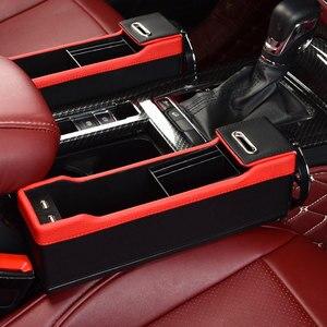 USB автомобильный органайзер, сумка для хранения сидений, автомобильный держатель для телефона, чехол, кошелек для сигарет, автомобильные ак...