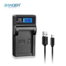 SANGER FV FP FH Series USB Camera Battery Charger for Sony NP-FV50 FV70 FV100 FP50 FP70 FP90 NP-FH70 NP-FH50 NP-FH100 NP-FV120