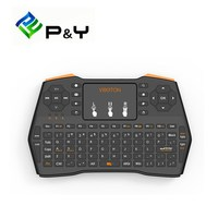 New I8 Plus Mini Wireless Keyboard 2 4GHz Air Mouse English Hebrew Remote Control With USB