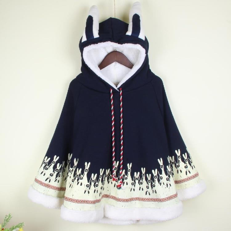 Frauen Japanischen Stil Mori Mädchen Herbst Wintermantel Niedlichen - Damenbekleidung - Foto 6