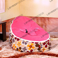 Baby Bean Bag Cover With 2pcs Dark Red Up Cover Baby Bean Bag Furniture Bean Bags