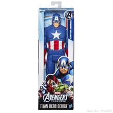 "Marvel Super hero Captain America The First Avenger Super hero Toy Figura de Ação PVC 12 ""30 cm KT1610(China)"