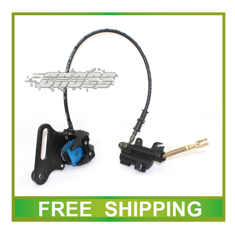 ФОТО taotao buyang 50cc 110cc 125cc 250cc CRF50 dirt pit bike motorcycle rear disc brake assy accessories free shipping