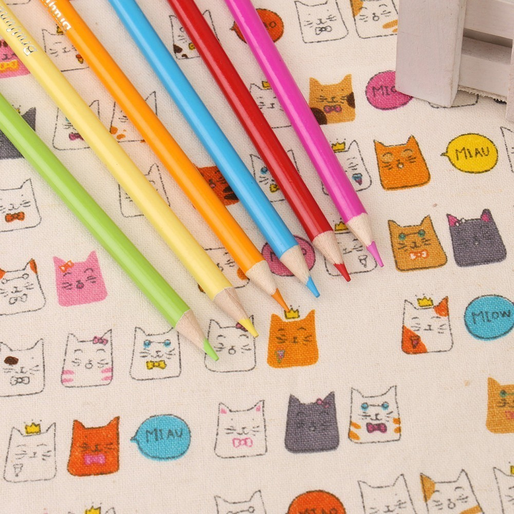 Sale Durable Genuine 120 cute oily color cartoon water-insoluble graffiti lead school-supplies pencil pen