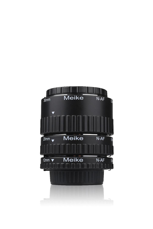 MEKE Meike N-AF-B Auto Focus Macro Tube d'extension anneau en plastique pour Nikon D800 D90 D3200 D5100 D5200 D7000 D7100 appareil photo DSLR
