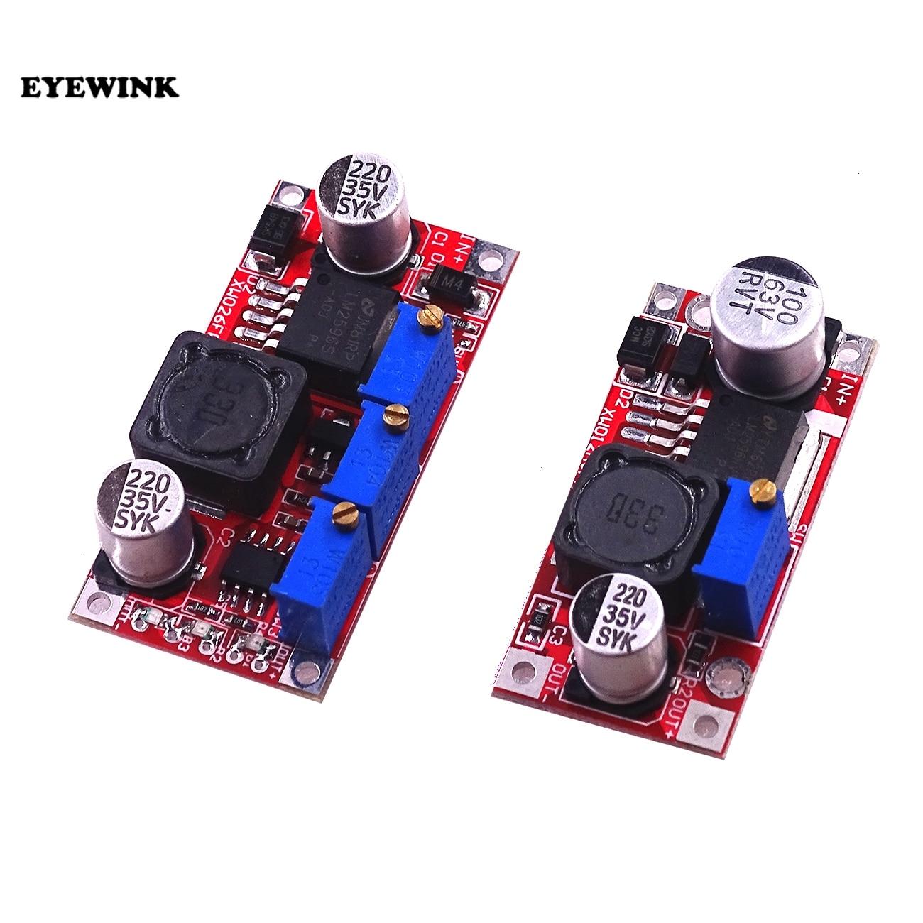 LM2596 XL6009//LM2577 LM2596 LM2596 //LM2596HVS Power Converter Voltmeter