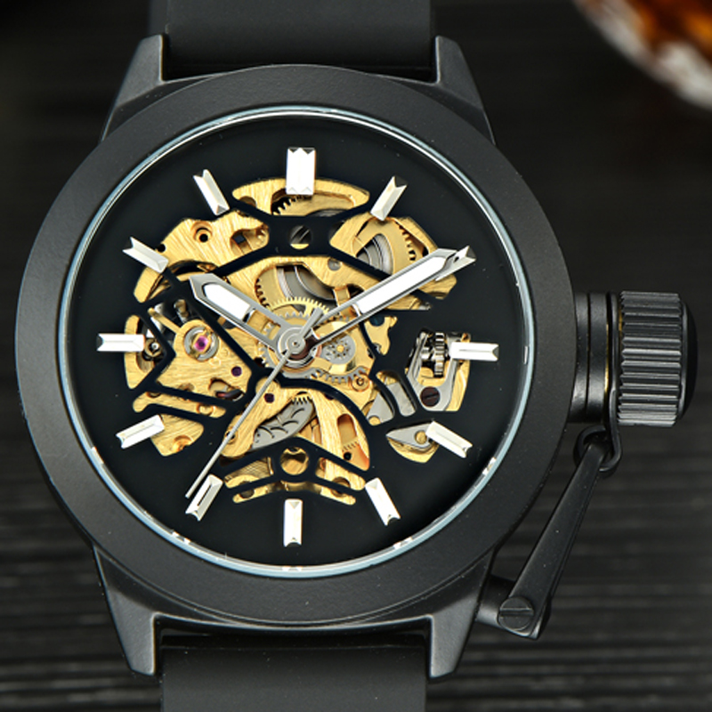 MCE Watch Top Brand font b Men s b font Automatic Watches Luxury font b Mechanical