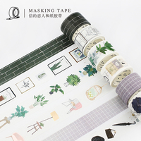 18PCS/LOT Lovers of letters Nordic series paper tapes masking tape washi tape