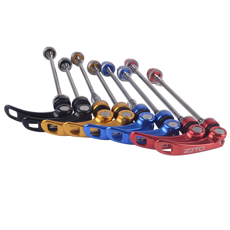 MTB Road Bicycle Wheel Hub Quick Release Skewers QR Front Rear Axle Skewer Titanium Alloy Bicycle Skewer Bike Accessories