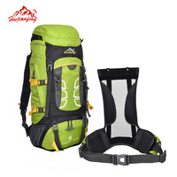 55 60L Men S Professional Hiking Backpack Outdoor Travel Shoulders Camping Sports Backpack Waterproof Climbing Mochila