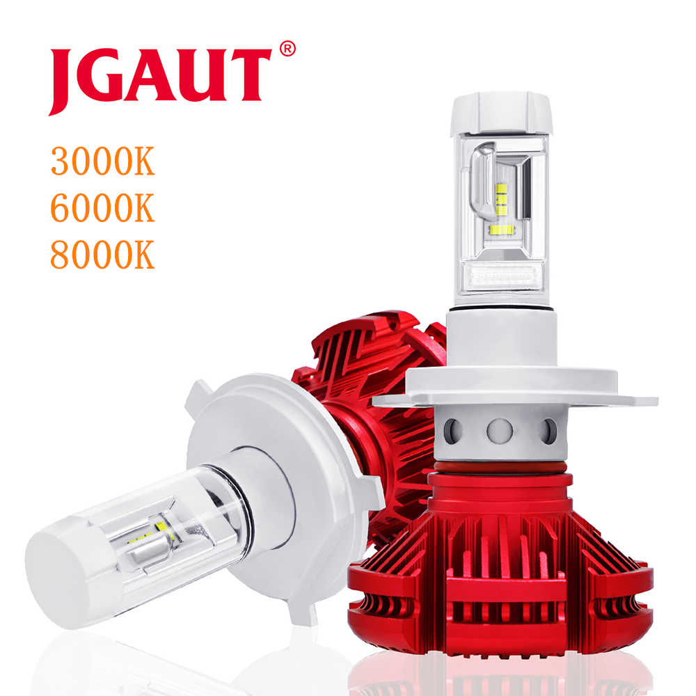 JGAUT 100Pcs Shipping by DHL EMS Fedex Wholesale X3 H7 Led H4 16000lm Car Headlights Light Bulb H1 H3 H11 9005 9006 Automobiles