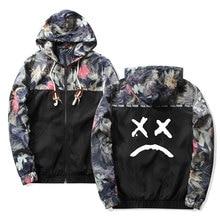 Lil Peep Sad Hooded Jackets Windbreaker Men Jackets Coats Sw