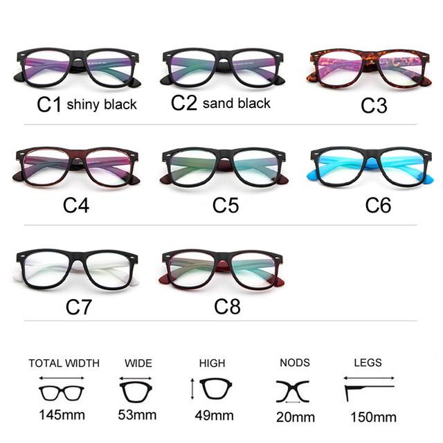 b87224d5222 Fashion Clear Glasses Men Fake Glasses Square Eyeglasses Optical Frames Male  Reading Eyewear Spectacle Frames