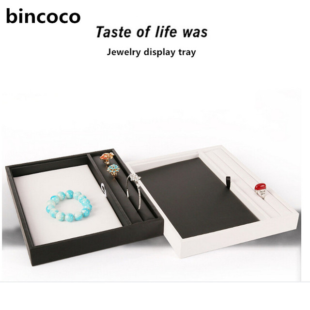 bincoco jewelry display tray fashion rack for jewelrys display