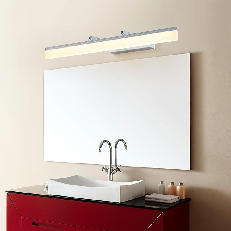 LED mirror light modern bathroom light acrylic 40cm 120cm 8W 24W Wall lamp led wall light arandela wall lamp mirror lamp