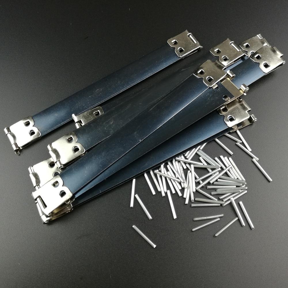 200PCs Metal Frame Kiss Clasp Lock For Purse Vintage Internal Flex Handbag Handle DIY Sewing Bags