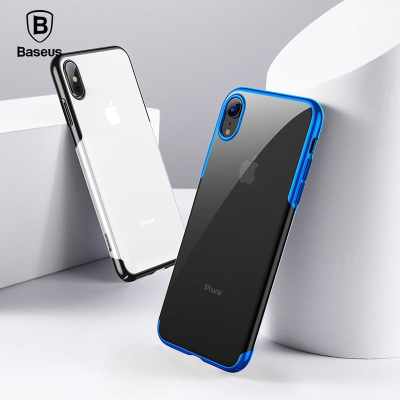 Baseus For iPhone X Xs Case Luxury Plating Hard Plastic Phone Case For iPhone Xs XR XS Max Ultra Thin Back Phone Cover Coque