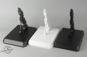 Image 4 - OrcheStron modell Lagerung Basis für Bandai MB MG 1/100 RG HG 1/144 EXIA rahmen Einhorn Gundam DO001