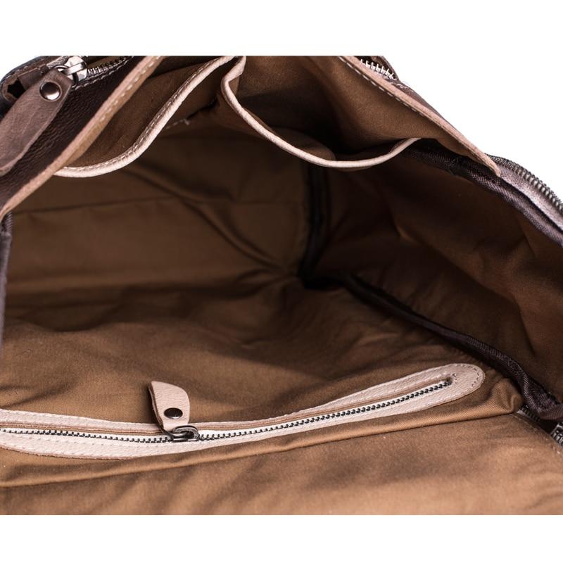 Рюкзак із шкіряного шкіряного - Рюкзаки - фото 6