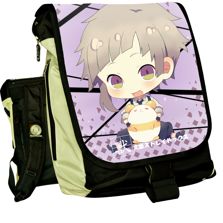 Anime Stray Dogs COSPLAY Casual fashion for men and womenComputer Backpack Student Bag Backpack anime seraph of the end cosplay yuichiro hyakuya casual fashion for men and womencomputer backpack student bag backpack