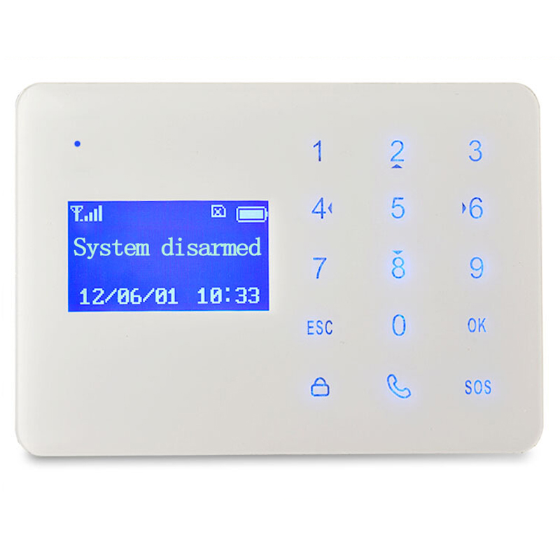 ФОТО Latest Version of GSM Alarm System with Mobile Calling & Touch Screen LCD Clock Display & Li-Battery Built-in for Non-Stop Alarm