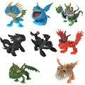 8 unids Cómo Entrenar A Tu Dragón 2 Juguetes Figuras de Acción Brinquedos Juguetes Para Niños Juguetes