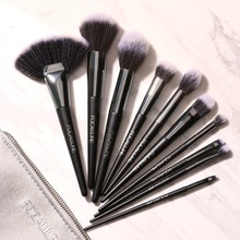 FOCALLURE 10Pcs/Set Professional Makeup Brushes Kit with Eyeshadow Foundation Brush Make up Tools cosmetics