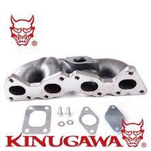Kinugawa, conjunto múltiple Turbo, brida T25, montaje bajo para Peugeot 206 GT 1.6L