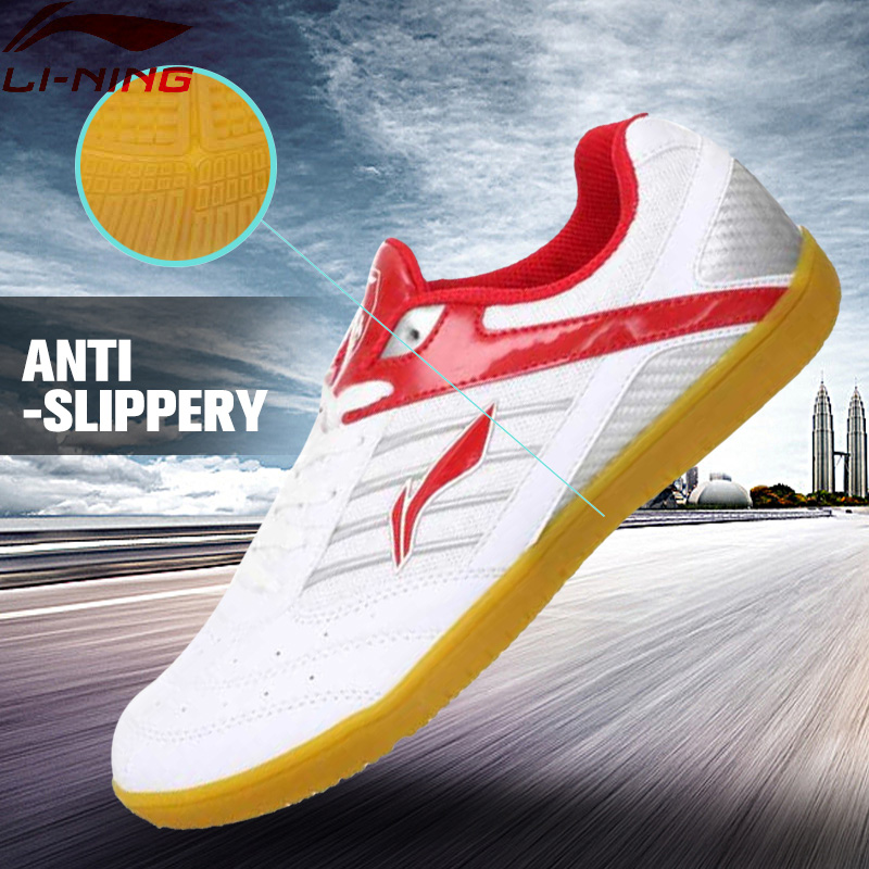 Li-Ning Men Table Tennis Shoes Indoor Training Breathable Anti-Slippery Hard-Wearing  Sneakers Sport Shoes  APTH001 YXT006 li ning men indoor training shoes breathable cushioning anti slippery hard wearing sneakers lining sport shoes asnh009 yxx003