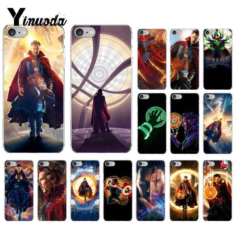 Yinuoda Dr Marvel Comics Dokter Aneh Coque Shell Ponsel Case untuk iPhone 5 5Sx 6 7 7 Plus 8 8 plus X XS Max XR Fundas Capa