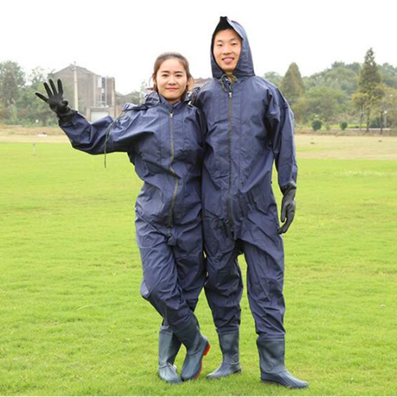 High Jump Underwater Hunting Fishing Waders Overalls 0 6mm PVC Waterproof Oxford Sole Pesca Clothing Zipper