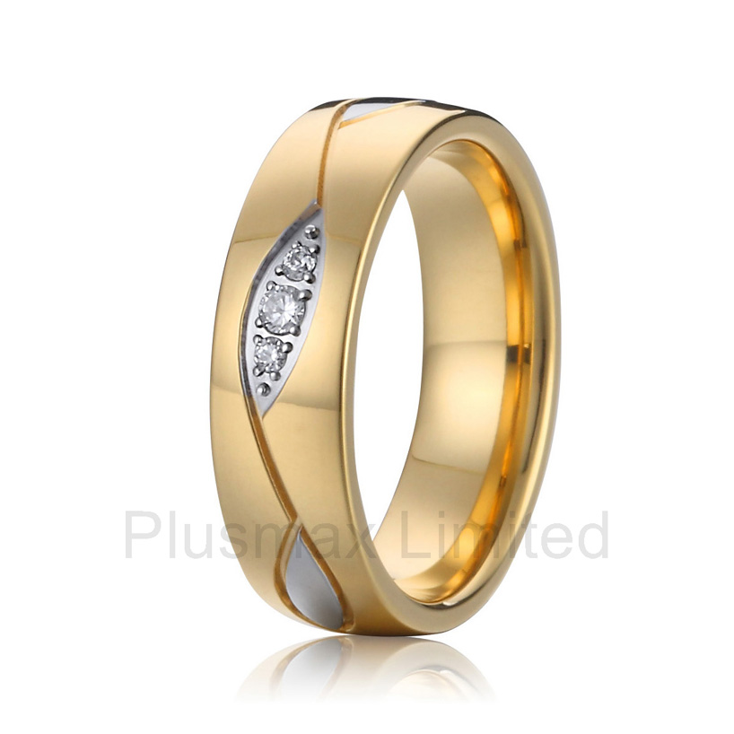 China cheap pure titanium jewelry Manufacturer high polished inside comfort fit vintage women wedding engagement rings anel feminino cheap pure titanium jewelry wholesale a lot of new design cheap pure titanium wedding band rings