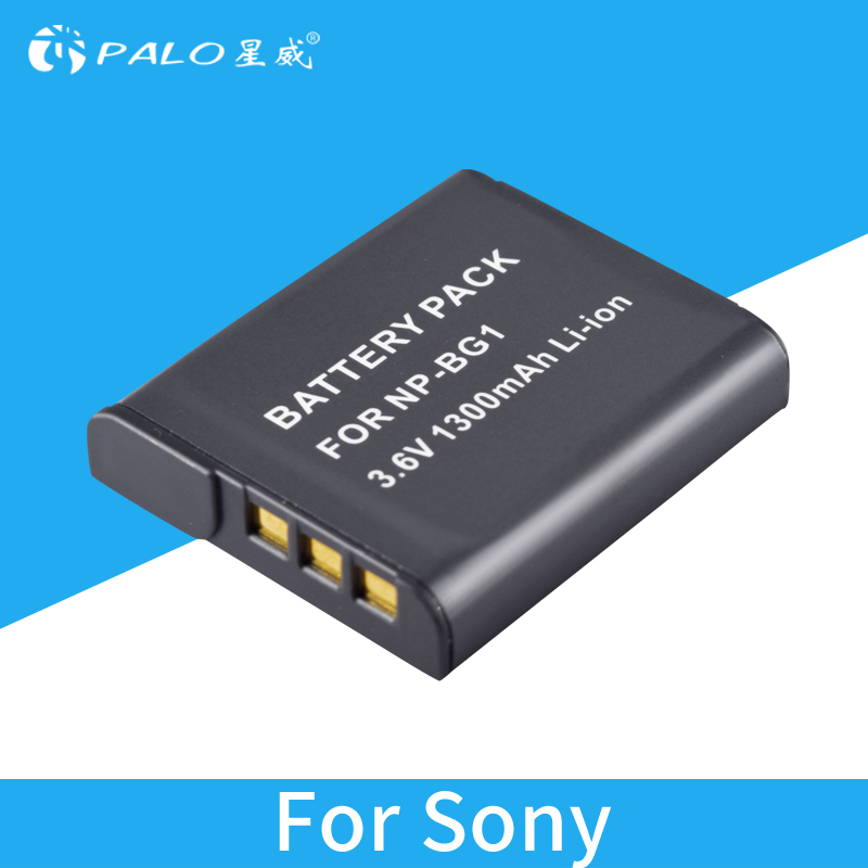 BG1 1300 mah NP-BG1 NP BG1 NPBG1 Caméra Batterie Pour SONY DSC W240 W230 H7 W300 H10 H50 H70 T110 HX7 HX10 HX30 WX10 H55 HX9 T290