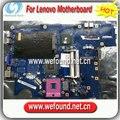 100% de trabajo placa madre del ordenador portátil para lenovo g550 la-5082p series mainboard, tablero de sistema