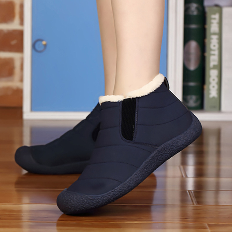 Cheville b506 Top High Zip Taille Sur Femmes Chaussures Black Chaud Bottes Slip Pink Non De Mode Blue Fourrure 36 Neige Grande B506 slip 46 Boot Bj Imperméable b506 Hiver Iwz4xqxt