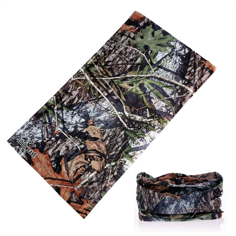 Multifunctional Camouflage Riding Scarf Bandanas Outdoor Sports Buffe Mask Face Shield Camo Headwear Hunting Bandana Neck Gaiter