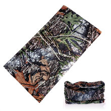 Multifunctional Camouflage Riding Scarf Bandanas Outdoor Sports buffe Mask Face Shield Camo Headwear Hunting Bandana Neck Gaiter(China)