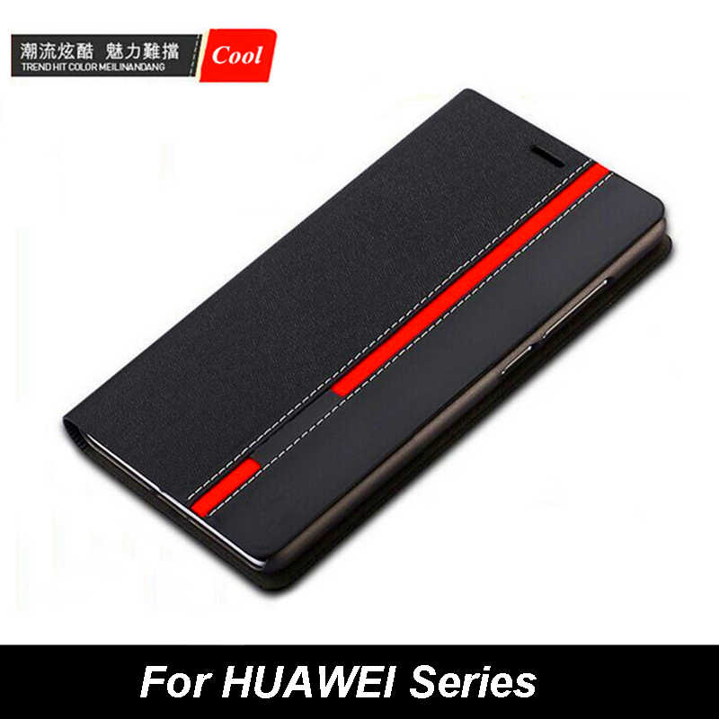 Luxury Wallet Bag Stand Mixed Colors Flip PU Leather Case For HUAWEI P30 Pro Mate 20 Lite P10 Plus Mate 9 Honor 5C 5X V8 Cover