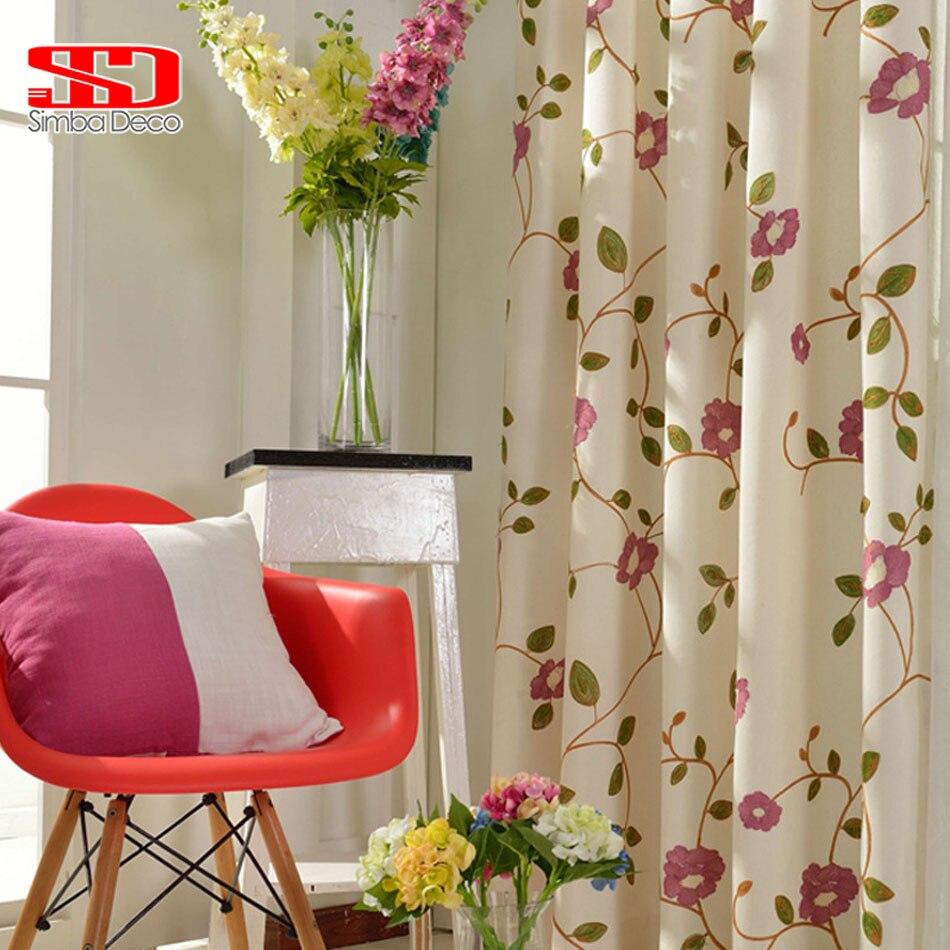 Rideaux Design Pour Chambre nºlin coton tissu rideaux pour salon blackout rideaux stores