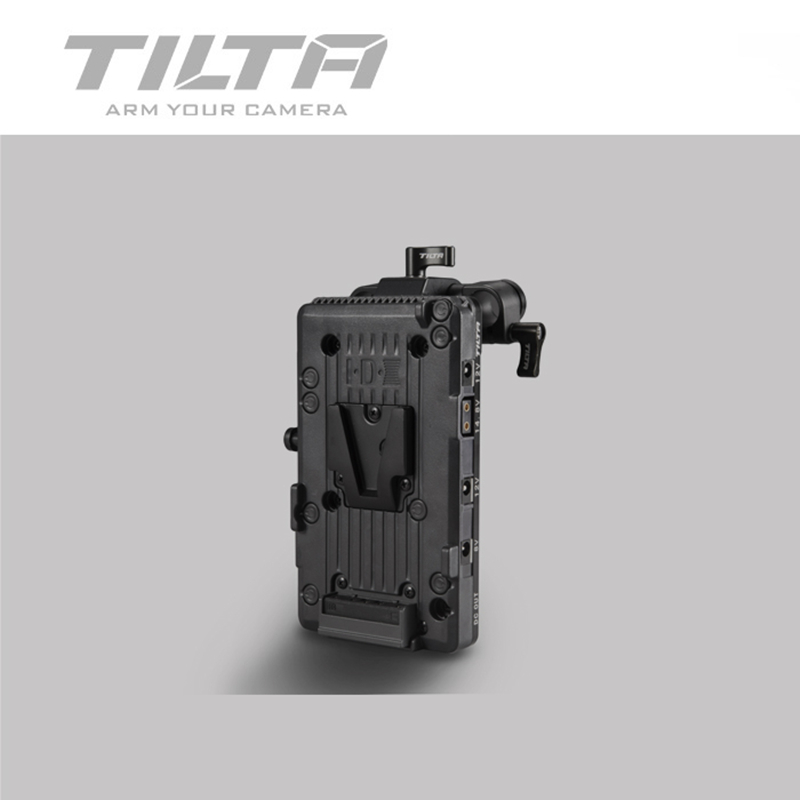 Tilta BT-14 de montage V-LOCK/or montage plaque de batterie alimentation 15mm tige pour CANON C200 SONY FS5 EVA1 BlackMagic URSA PRO