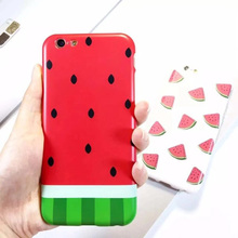 cartoon pattern for iphone 6 cute watermelon fruit soft TPU IMD case phone cover for iphone6 s 6s 6 plus 6s plus 4.7 5.5 cases