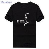 2017 Didier Drogba ombra Tees T-Shirt T degli uomini della CAMICIA 100% cotone per costa d'avorio fans regalo 0311-26