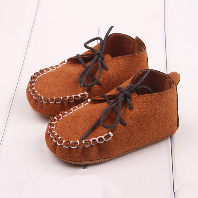1 pair Baby Moccasins Soft Moccs Baby Shoes Newborn Baby firstwalker Anti-slip Genuine Cow Leather Infant Shoes Footwear