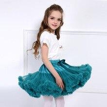 Юбка-пачка для девочек; зеленая фатиновая одежда принцессы для маленьких девочек; подарок на Рождество; детские юбки для танцев; балетная мини-юбка-пачка; faldas nina