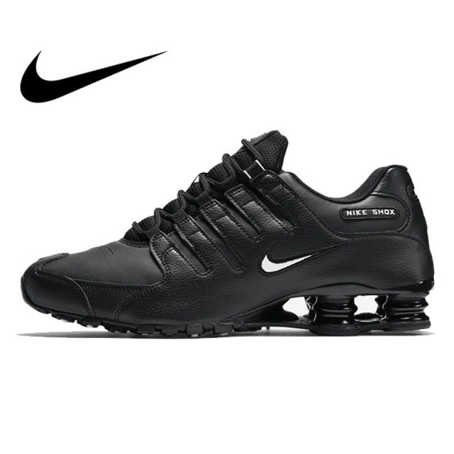 e0810e4fec2 Original 2018 NIKE SHOX NZ EU Men s Running Shoes Outdoor Sports Designer  Athletics Official Cushioning Lace-up Sneakers 501524