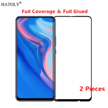 2Pcs Huawei P Smart Z Glass Tempered for Film Full Glue Phone Screen Protector